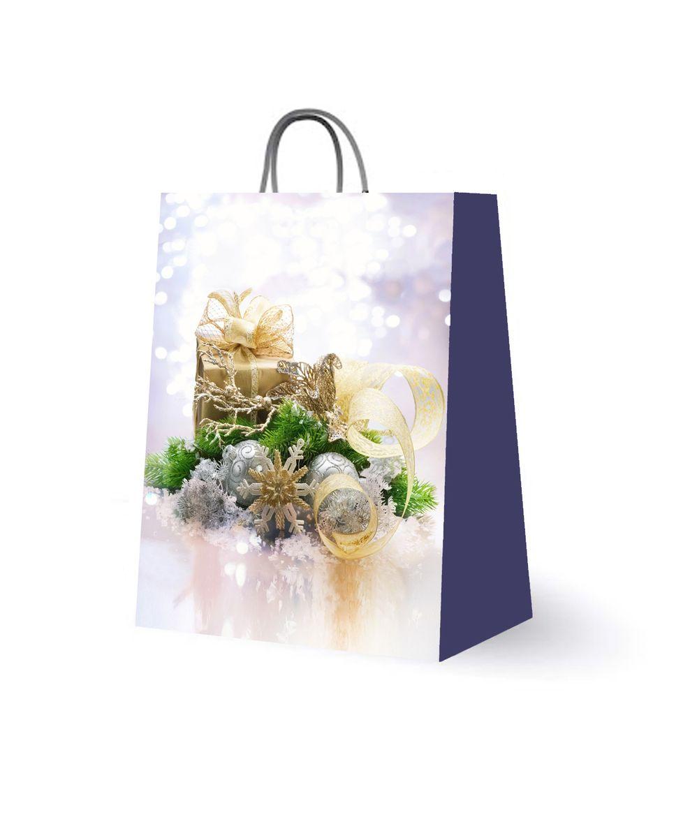 Пакет подарочный Magic Time, цвет: белый, сиреневый, 18 х 23 х 10 см. 2759727597Подарочный пакет Magic Time, изготовленный из плотной бумаги, станет незаменимым дополнением к выбранному подарку. Для удобной переноски на пакете имеются две ручки из шнурков. Подарок, преподнесенный в оригинальной упаковке, всегда будет самым эффектным и запоминающимся. Окружите близких людей вниманием и заботой, вручив презент в нарядном, праздничном оформлении.