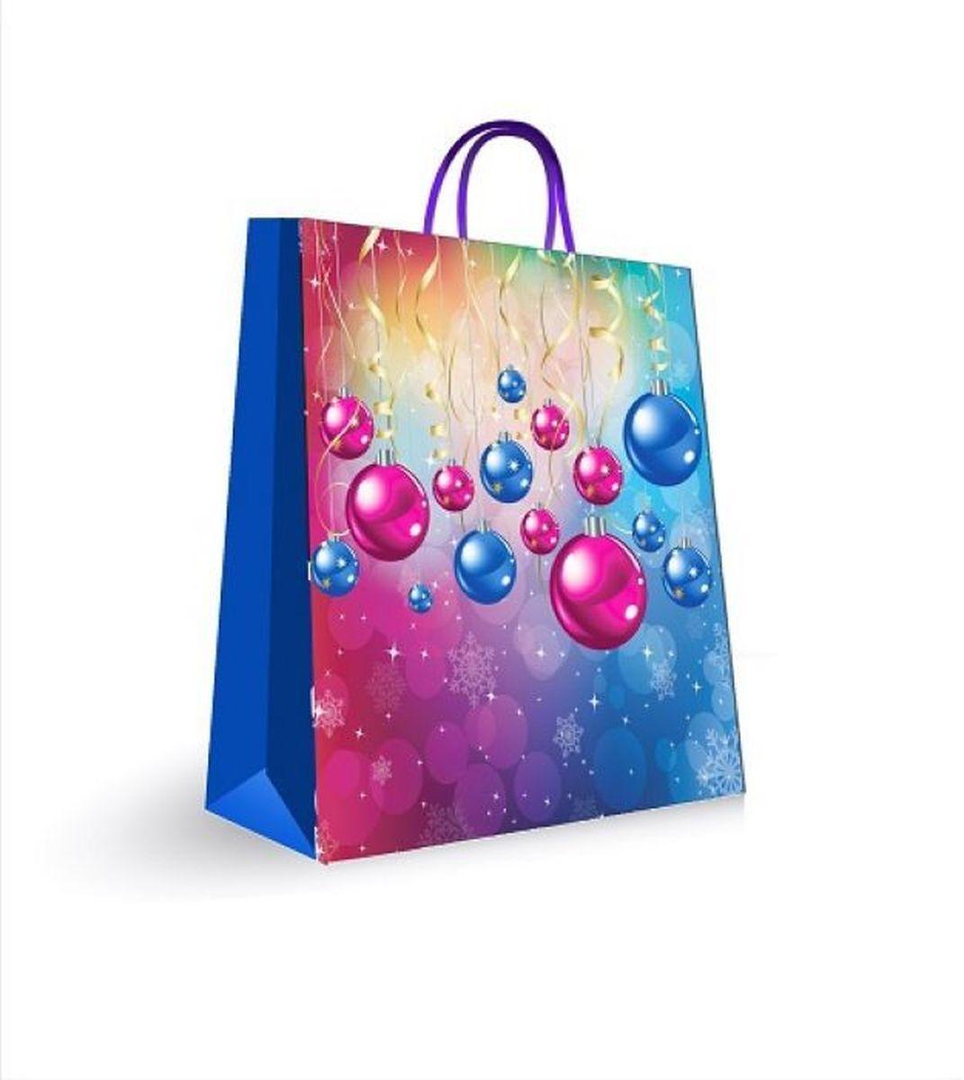 Пакет подарочный Magic Time, цвет: синий, 18 х 23 х 10 см31448Бумажный пакет 18*23*10 см для сувенирной продукции