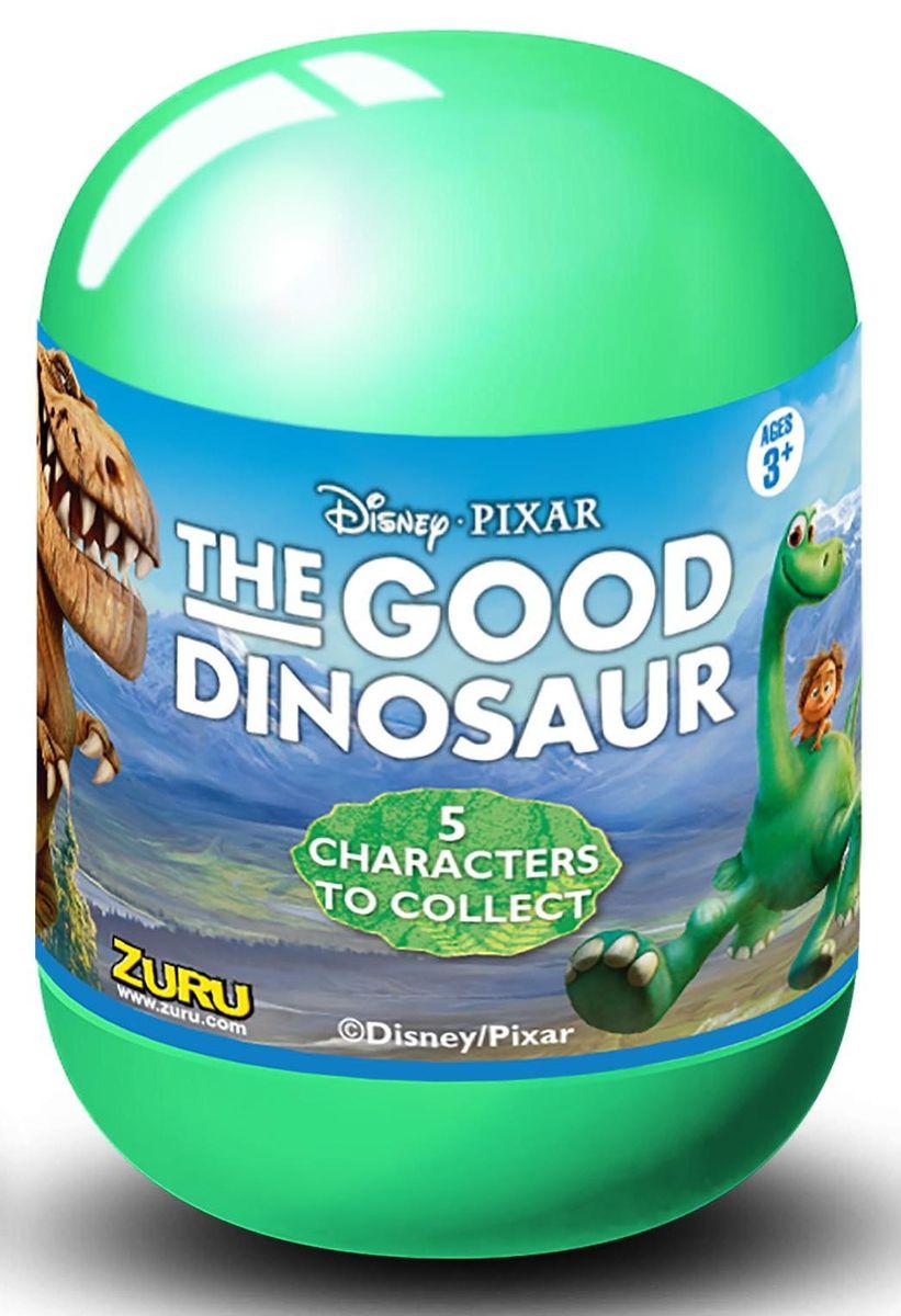 Zuru Фигурка Хороший динозавр5401Q2Фигурки Zuru Хороший динозавр - это оригинальные фигурки, упакованные в непрозрачную пластиковую капсулу. Они изображают главных героев мультфильма Хороший динозавр, популярного среди миллионов мальчиков и девочек во всем мире. В коллекции представлены 5 персонажей: Арло-центральный персонаж мультфильма, молодой апатозавр; Бур-большой и суровый тираннозавр, владелец стада долгорогов; Нэш-сын Бура, юный тираннозавр; Рамзи-дочка Бура, маленькая помощница и Дружок, мальчик, лучший друг Арло.Фигурки выглядят очень красочно и ярко, они в точности копируют своего персонажа. Для удобства хранения к каждой фигурке прикреплена подставка, выполненная в виде камня. Так игрушка будет еще эффектнее смотреться на полке! Соберите целую коллекцию фигурок Хороший динозавр!