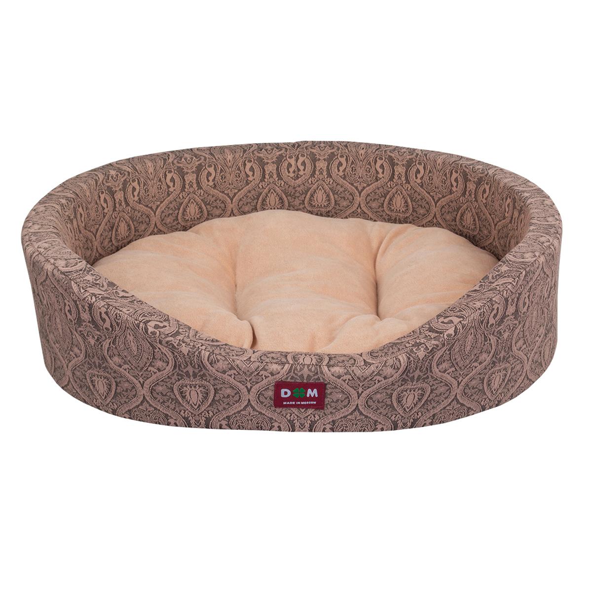 Лежак для животных Dogmoda Дуэт, цвет: бежевый. DM-160281-2DM-160281-2Уютный лежак обязательно понравится Вашей собачке. В нем Ваш питомец будет счастлив, так как лежак очень мягкий и приятный. Пёсик будет проводить все свое свободное время в нем, отдыхать, наслаждаясь удобством. Лежак выполнен из мягкой качественной ткани, также имеется подушка, которая легко вынимается и ее можно использовать отдельно.