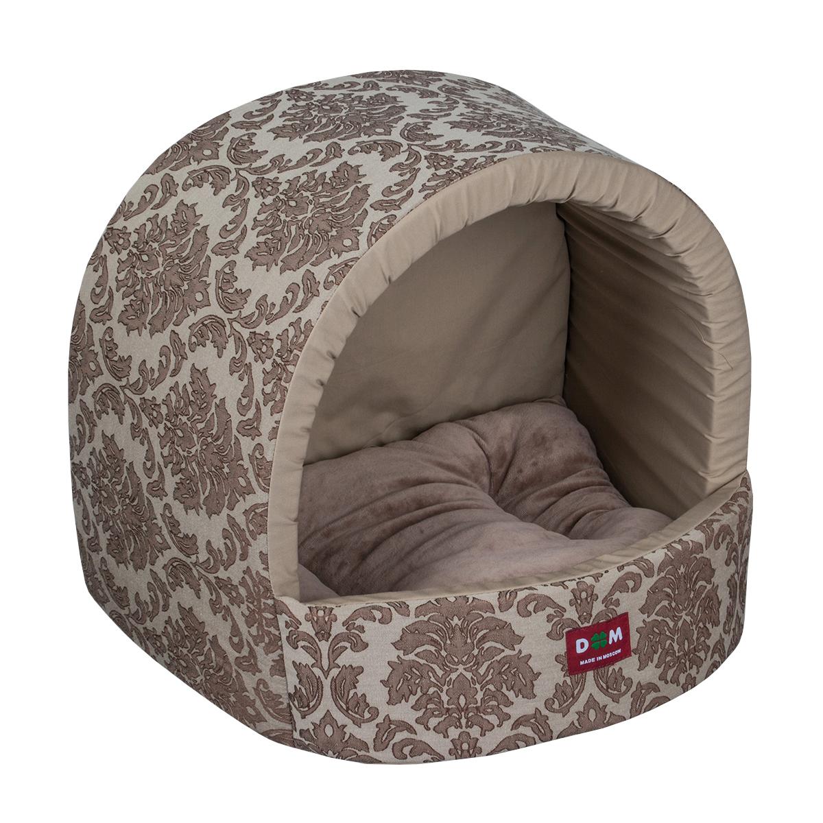 Домик для животных Dogmoda Ампир. DM-160284DM-160284У собаки, как и у человека, должно быть свое собственное место для отдыха, своя постель. Эту роль для домашних питомцев играет специальный лежак.