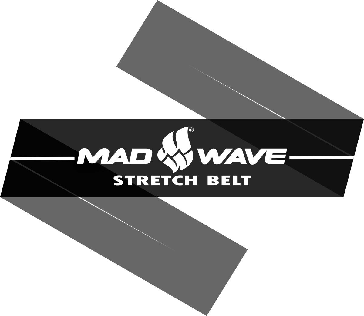 Эспандер Mad Wave Stretch Band, цвет: черный, 150 см х 15 см х 0,04 см10012309Эспандер Mad Wave Stretch Band предназначен для тренировки и разогрева мышц. Представляет собой латексную ленту. Может применятся в любом виде спорта. Чрезвычайно компактный.