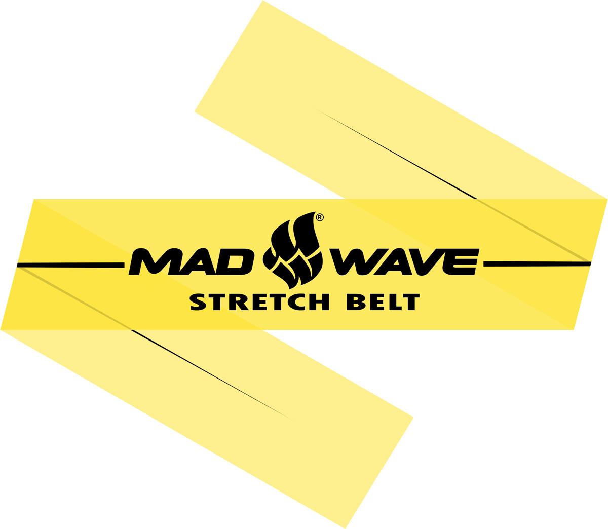 Эспандер Mad Wave Stretch Band, цвет: желтый, 150 см х 15 см х 0,02 см10012311Эспандер Mad Wave Stretch Band предназначен для тренировки и разогрева мышц. Представляет собой латексную ленту. Может применятся в любом виде спорта. Чрезвычайно компактный.