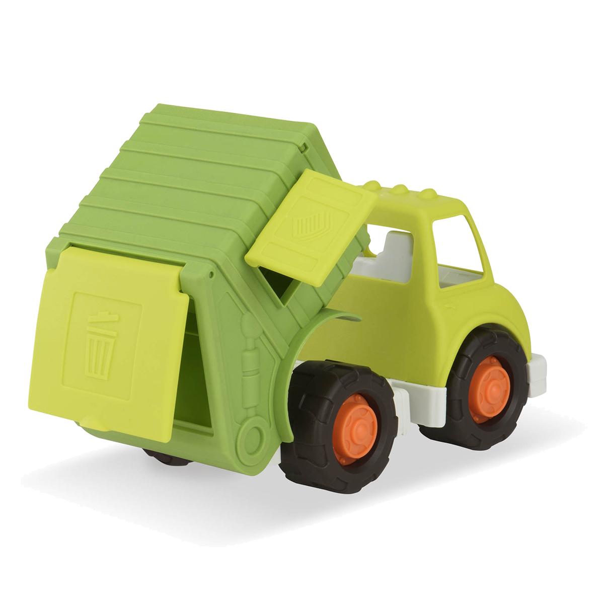 Wonder Wheels Мусоровоз68034Мусоровоз Wonder Wheels привлечет внимание вашего ребенка и станет его любимой игрушкой. Изделие выполнено из безопасного материала. Функциональность игрушки дает возможность ребёнку окунуться с головой в игровой процесс. А высокое качество игрушки позволяет наслаждаться любимой игрой в полной мере и в любое время года. Ваш маленький водитель увлеченно будет играть с машинкой, придумывая различные истории. Порадуйте его таким замечательным подарком!