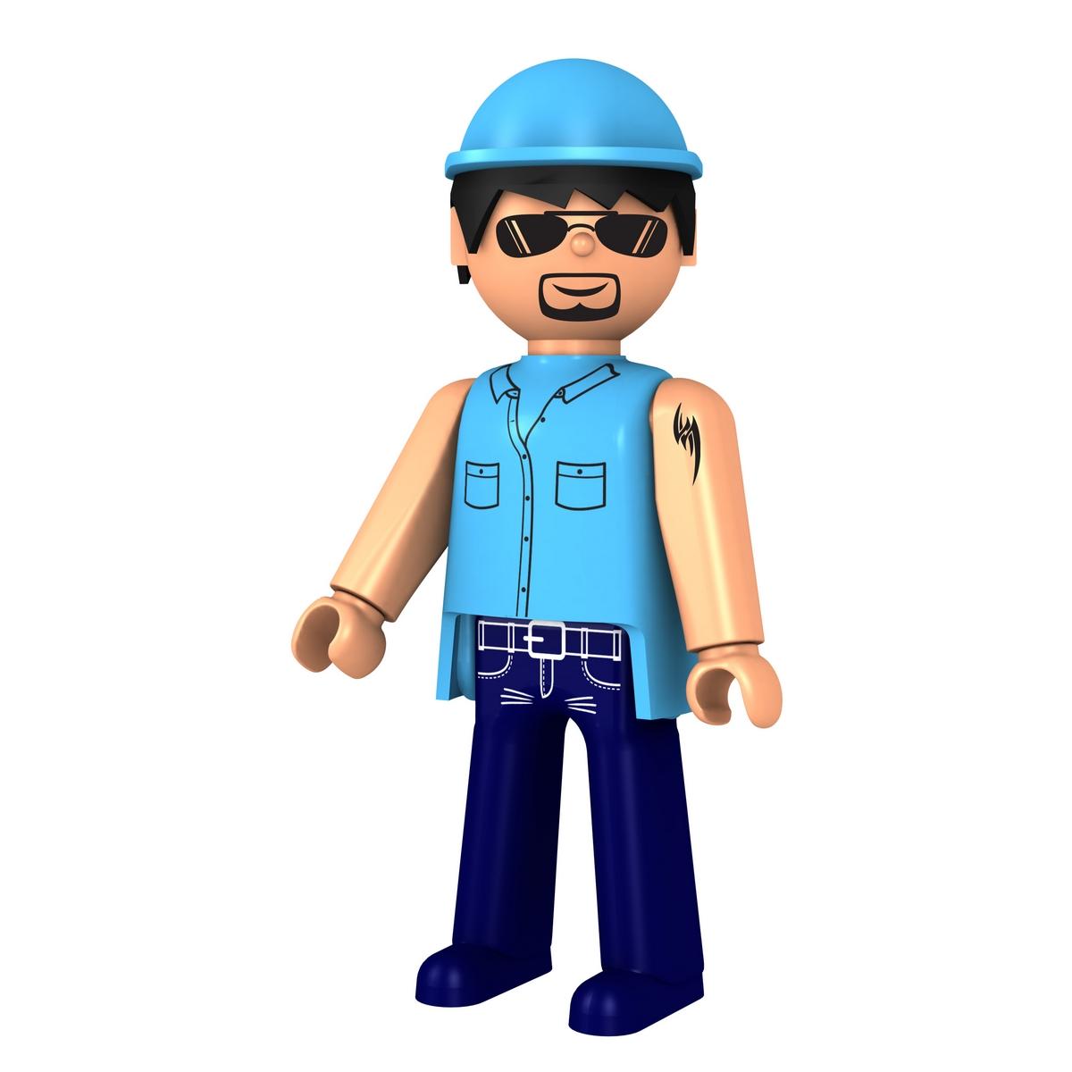 Igracek Фигурка Водитель27411Каждая строительная площадка нуждается в водителе грузовика, который не побоится сложностей!