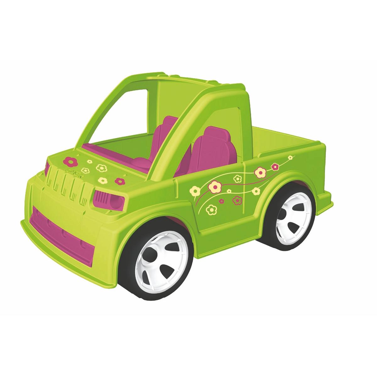 MultiGo Автомобиль с ландшафтным дизайнером23216Автомобиль MultiGo внесет разнообразие в игры с машинками, позволяя придумывать новые сюжеты. Розы, тюльпаны, нарциссы… Какой запах!!! Идеальная машина! Багажник открывается и в нем достаточно места для перевозки цветов, растений и инструментов! Колеса машинки свободно вращаются. Кабина имеет два посадочных места для двух фигурок. Фигурка может наклоняться, руки фигурки поднимаются и опускаются, голова поворачивается. Волосы и головной убор съемные, их можно менять с другими фигурками. Специальная система MultiGo позволяет детям легко менять и добавлять различные игровые аксессуары. Одна игрушка легко преобразуется в другую. Сделайте вашему ребенку такой замечательный подарок!