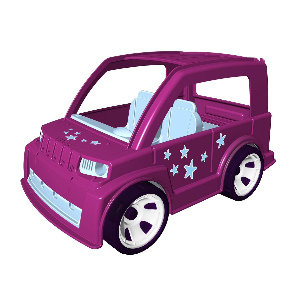MultiGo Автомобиль с девочкой-модницей23220Автомобиль MultiGo внесет разнообразие в игры с машинками, позволяя придумывать новые сюжеты. Поездка загород, путешествия или просто в магазин - отличная машина для всех этих действий! Идеальная машина! Багажник открывается и в нем достаточно места для перевозки модных покупок! Колеса машинки свободно вращаются. Кабина имеет два посадочных места для двух фигурок. Фигурка может наклоняться, руки фигурки поднимаются и опускаются, голова поворачивается. Волосы съемные, их можно менять с другими фигурками. Специальная система MultiGo позволяет детям легко менять и добавлять различные игровые аксессуары. Одна игрушка легко преобразуется в другую. Сделайте вашему ребенку такой замечательный подарок!