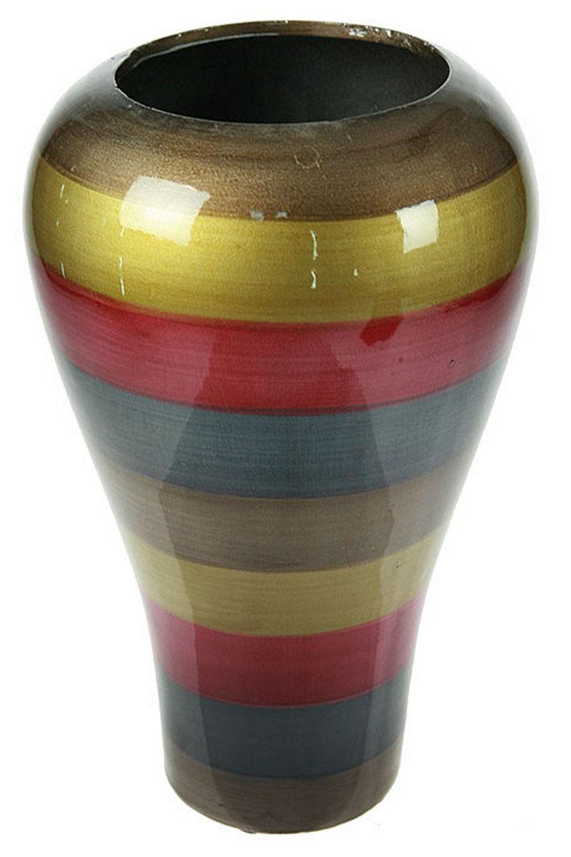 Ваза Русские Подарки, высота 30 см. 115910115910Ваза Русские Подарки, выполненная из керамики, украсит интерьер вашего дома или офиса. Оригинальный дизайн и красочное исполнение создадут праздничное настроение. Такая ваза подойдет и для цветов, и для декора интерьера. Кроме того - это отличный вариант подарка для ваших близких и друзей. Правила ухода: мыть теплой водой с применением нейтральных моющих средств. Размер вазы: 19 х 19 х 30 см.