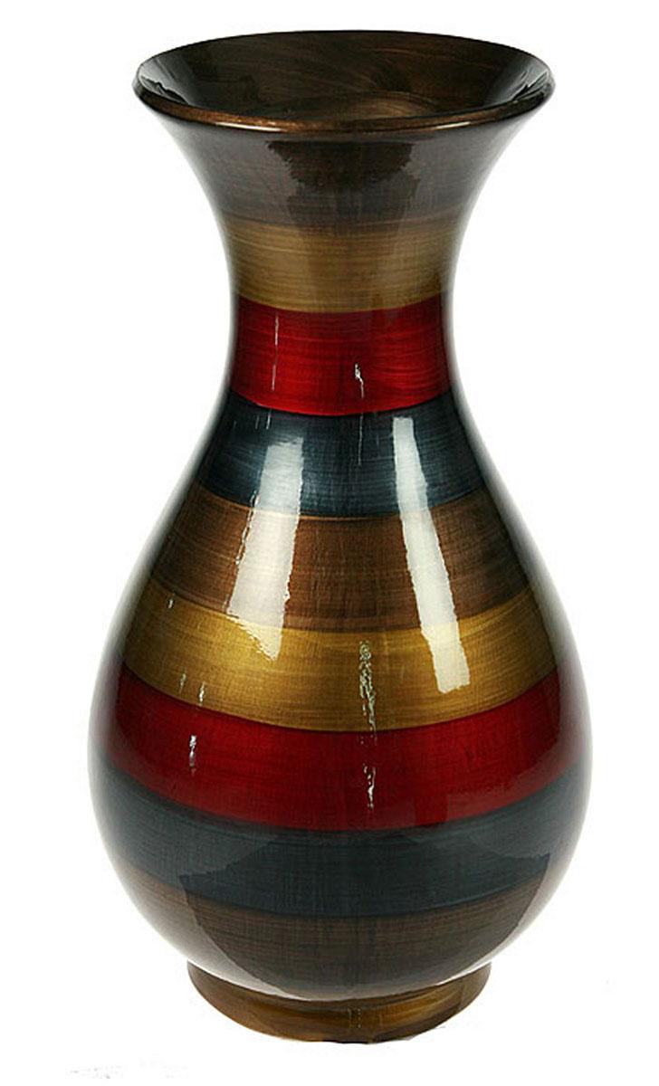 Ваза Русские Подарки, 17 х 17 х 31 см. 115911115911Ваза Русские Подарки, выполненная из керамики, украсит интерьер вашего дома или офиса. Оригинальный дизайн и красочное исполнение создадут праздничное настроение. Такая ваза подойдет и для цветов, и для декора интерьера. Кроме того - это отличный вариант подарка для ваших близких и друзей. Правила ухода: мыть теплой водой с применением нейтральных моющих средств. Размер вазы: 17 х 17 х 31 см.