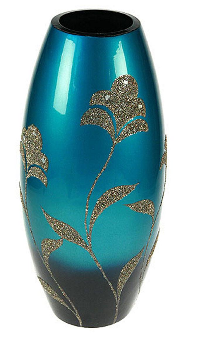 Ваза Русские Подарки, высота 41 см. 1490614906Ваза Русские Подарки, выполненная из керамики, украсит интерьер вашего дома или офиса. Оригинальный дизайн и красочное исполнение создадут праздничное настроение. Такая ваза подойдет и для цветов, и для декора интерьера. Кроме того - это отличный вариант подарка для ваших близких и друзей. Правила ухода: регулярно вытирать пыль сухой, мягкой тканью. Размер вазы: 18 х 18 х 41 см.