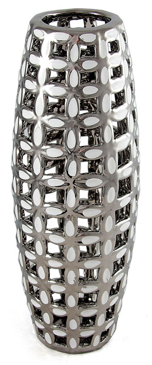 Ваза Русские Подарки, высота 39 см. 214543214543Ваза Русские Подарки, выполненная из керамики, украсит интерьер вашего дома или офиса. Оригинальный дизайн и красочное исполнение создадут праздничное настроение. Такая ваза подойдет и для цветов, и для декора интерьера. Кроме того - это отличный вариант подарка для ваших близких и друзей. Правила ухода: мыть теплой водой с применением нейтральных моющих средств. Размер вазы: 9 х 10 х 39 см.