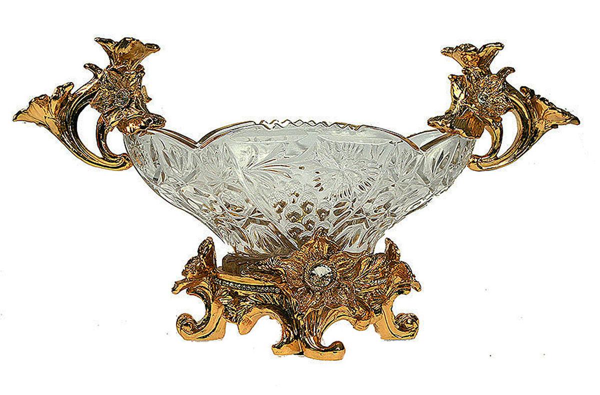 Фруктовница Русские Подарки Версаль, 16 х 42 х 24 см. 4891948919