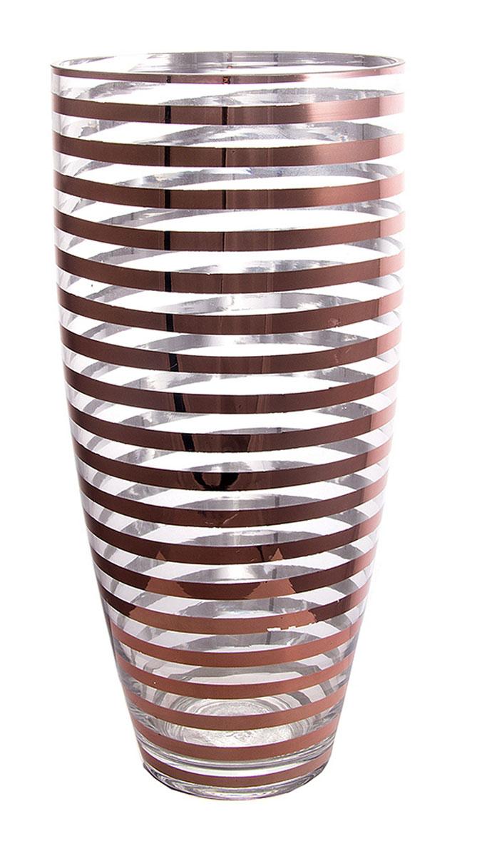 Ваза Русские Подарки, высота 38 см. 5141251412Ваза Русские Подарки, выполненная из стекла, украсит интерьер вашего дома или офиса. Оригинальный дизайн и красочное исполнение создадут праздничное настроение. Такая ваза подойдет и для цветов, и для декора интерьера. Кроме того - это отличный вариант подарка для ваших близких и друзей. Правила ухода: мыть теплой водой с применением нейтральных моющих средств. Высота вазы: 38 см. Диаметр вазы: 18 см.