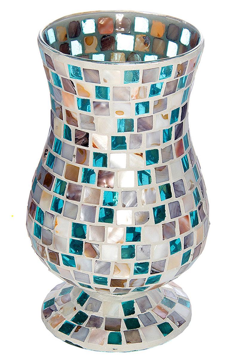 Ваза Русские Подарки Мозаика, высота 24 см. 8672986729Ваза Русские Подарки, выполненная из стекла, украсит интерьер вашего дома или офиса. Оригинальный дизайн и красочное исполнение создадут праздничное настроение. Такая ваза подойдет и для цветов, и для декора интерьера. Кроме того - это отличный вариант подарка для ваших близких и друзей. Правила ухода: мыть теплой водой с применением нейтральных моющих средств.