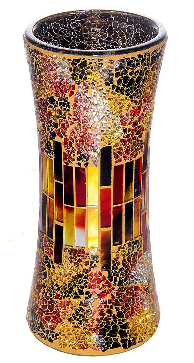 Ваза Русские Подарки Мозаика, высота 30 см. 8673586735Ваза Русские Подарки, выполненная из стекла, украсит интерьер вашего дома или офиса. Оригинальный дизайн и красочное исполнение создадут праздничное настроение. Такая ваза подойдет и для цветов, и для декора интерьера. Кроме того - это отличный вариант подарка для ваших близких и друзей. Правила ухода: мыть теплой водой с применением нейтральных моющих средств.