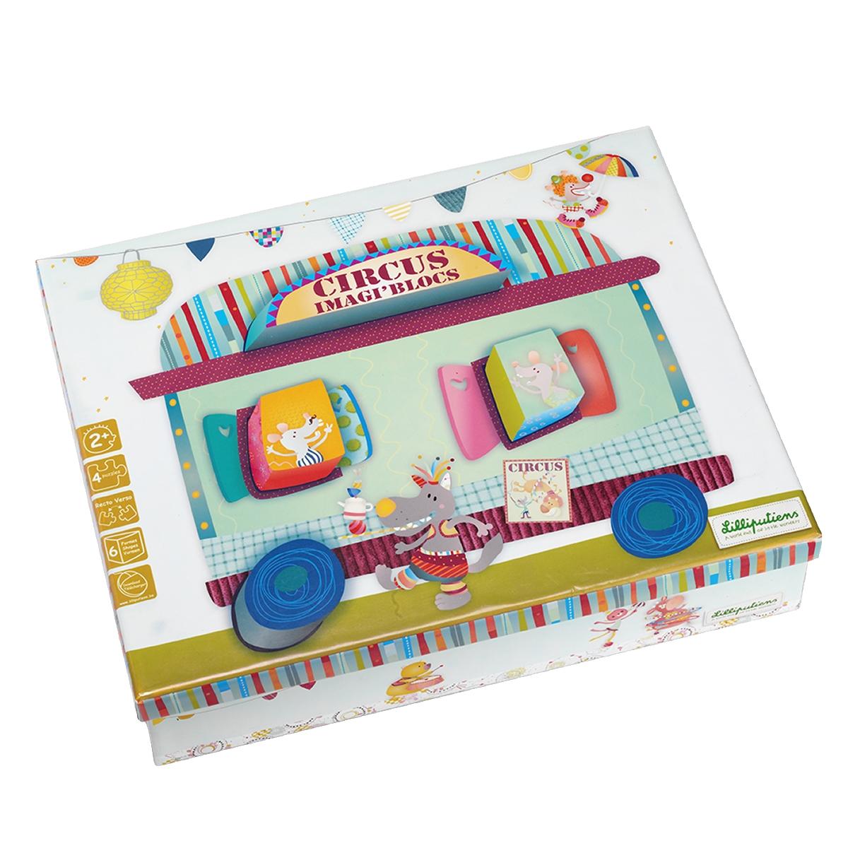Lilliputiens Игрушка-сортер Цирк86420Игрушка-сортер Lilliputiens Цирк обязательно понравится малышу и доставит ему много удовольствия от часов, посвященных игре с ней. Создавай бесконечные истории с Lilliputiens Цирк! Выбери одну из 4 картин, найди правильные комбинации и вставь формочки, чтобы воплотить в жизнь приключения твоих маленьких друзей Lilliputiens. Все игрушки разрабатываются в Бельгии и отличаются безупречным качеством и безграничной креативностью. Каждая игрушка - это путешествие в новую вселенную, полную неожиданных открытий и приятных сюрпризов. Игры с сортером помогут малышу развить цветовое восприятие, воображение и мелкую моторику рук. Порадуйте своего малыша таким замечательным подарком!