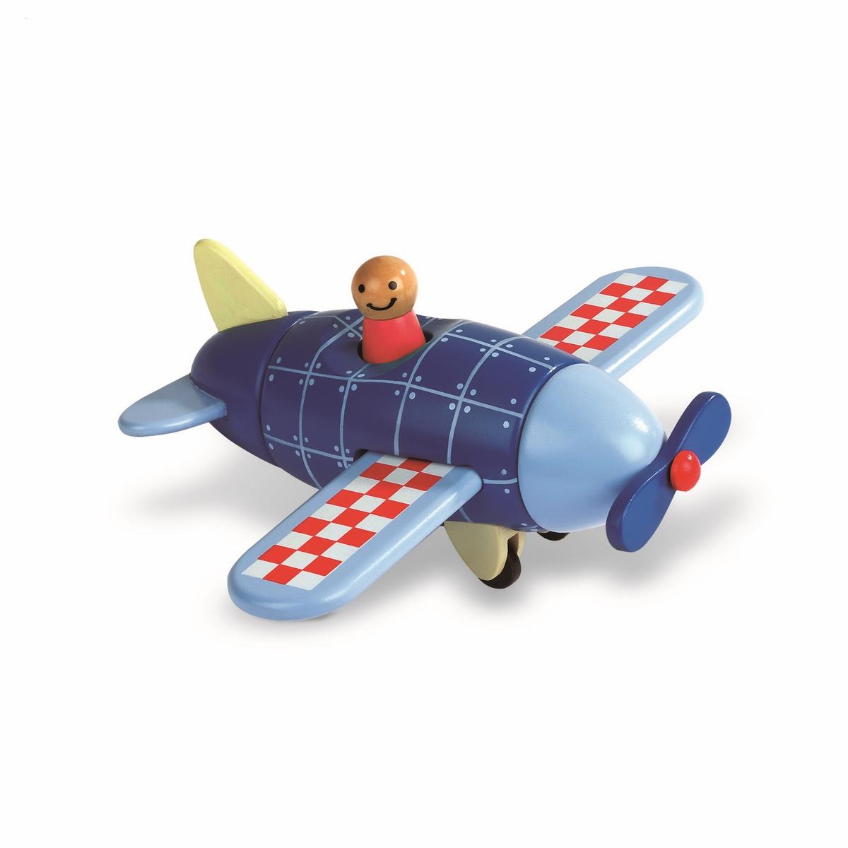 Janod Конструктор магнитный СамолетJ05205Эта замечательная игрушка состоит из элементов, которые соединяются друг с другом при помощи магнитов. Сложи элементы правильно и получи красивый самолет! Эта игрушка очень понравится детям. Складывать целое из частей так интересно!