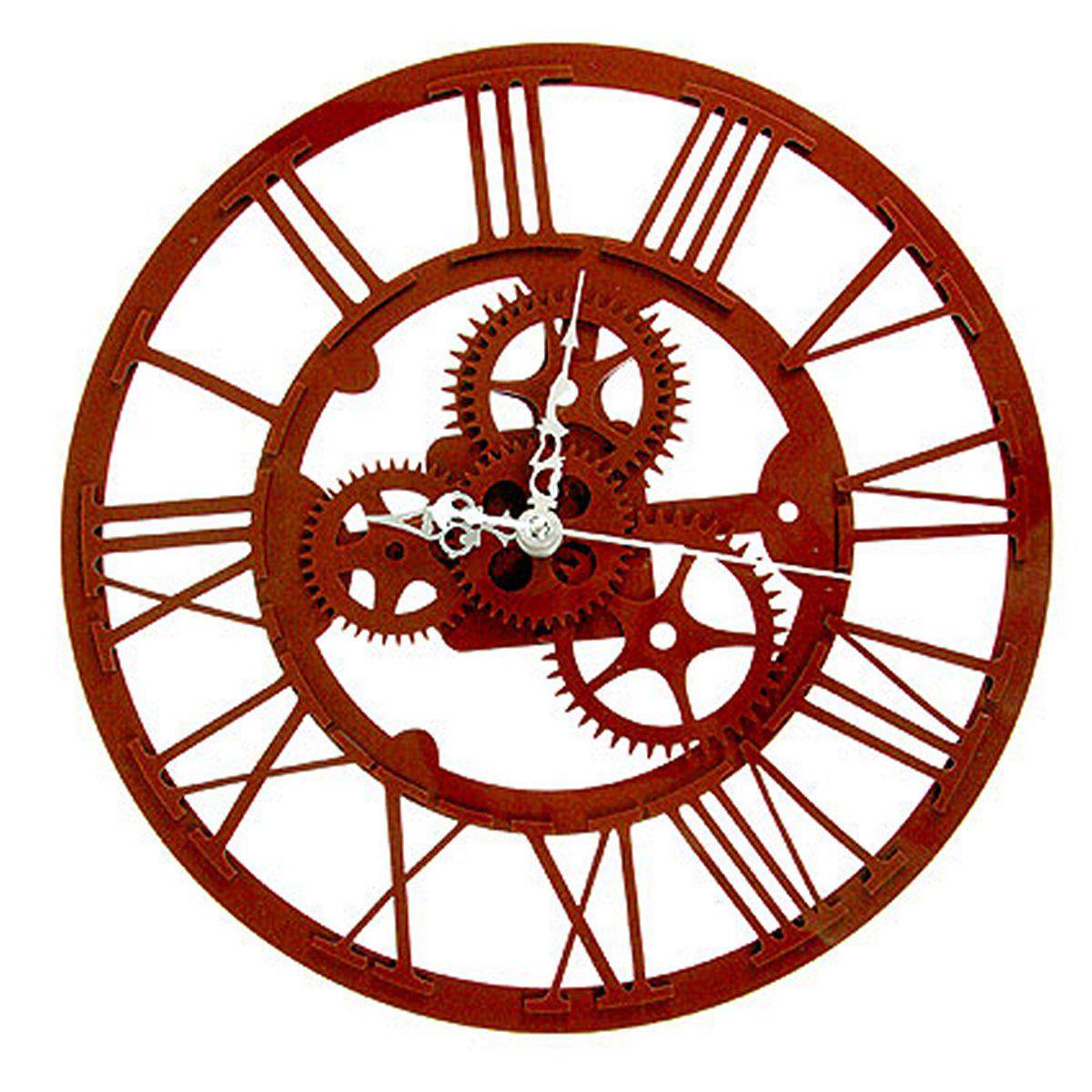 Часы настенные Русские Подарки, 30 х 30 см. 122418122418