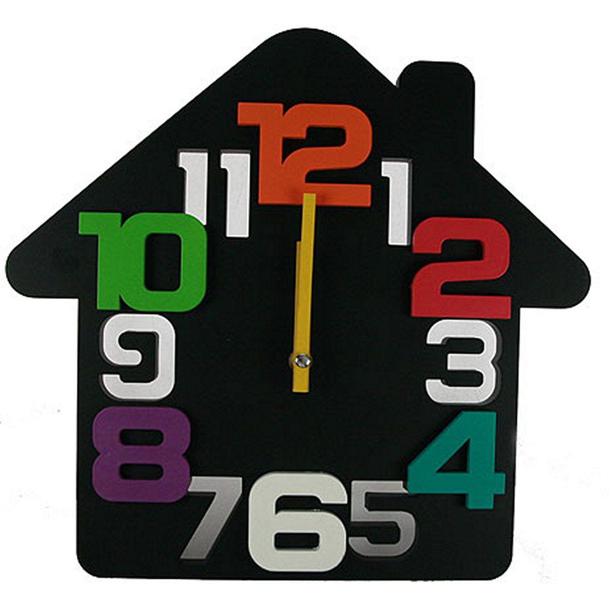 Часы настенные Русские Подарки Домик. 222418222418Настенные кварцевые часы Русские Подарки Домик изготовлены из пластика. Корпус оригинально оформлен в виде домика. Часы имеют две стрелки - часовую и минутную. С обратной стороны имеется петелька для подвешивания на стену. Такие часы красиво и необычно оформят интерьер дома или офиса. Также часы могут стать уникальным, полезным подарком для родственников, коллег, знакомых и близких. Часы работают от батареек типа АА (в комплект не входят).