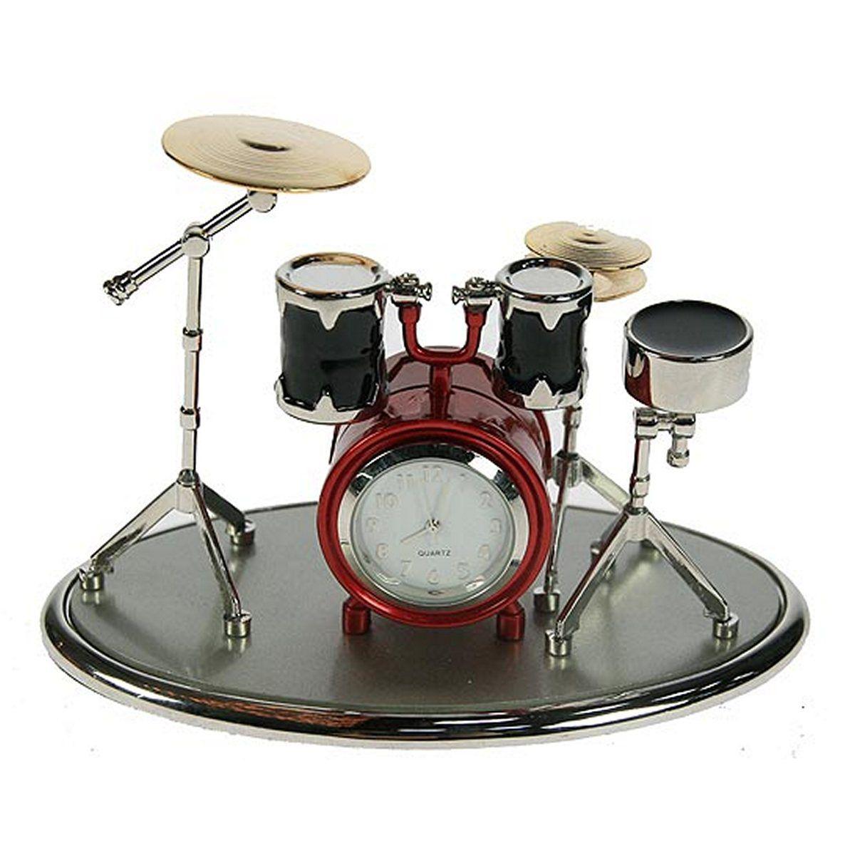 Часы настольные Русские Подарки Музыкальная группа, 12 х 8 х 9 см. 2240322403