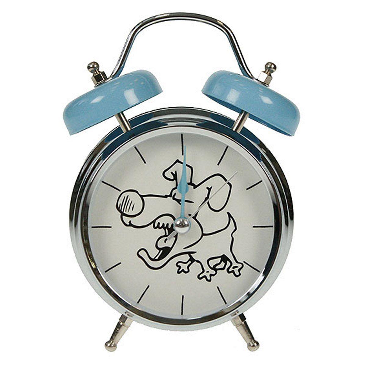 Часы настольные Русские Подарки Собака, с функцией будильника, 12 х 6 х 17 см. 232411232411Настольные кварцевые часы Русские Подарки Собака изготовлены из металла, циферблат защищен стеклом. Оригинальное оформление в виде смешной собаки поднимет настроение, а благодаря функции будильника вы проснетесь вовремя. Часы имеют три стрелки - часовую, минутную и секундную. Такие часы украсят интерьер дома или рабочий стол в офисе. Также часы могут стать уникальным, полезным подарком для родственников, коллег, знакомых и близких. Часы работают от батареек типа АА (в комплект не входят).