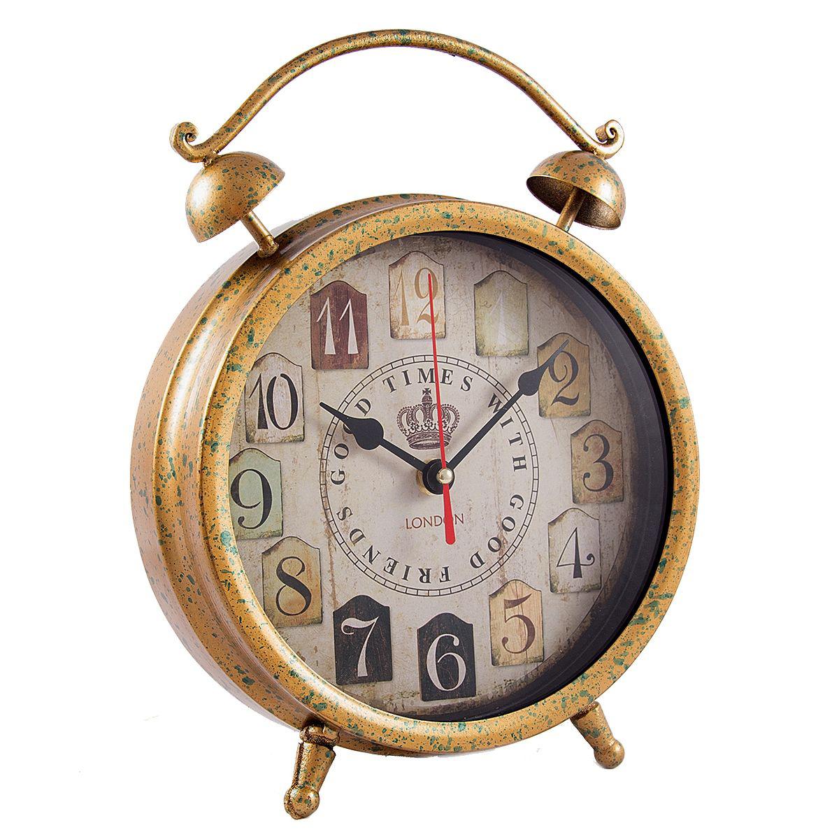 Часы настольные Русские Подарки, 21 х 28 х 6 см. 2962029620