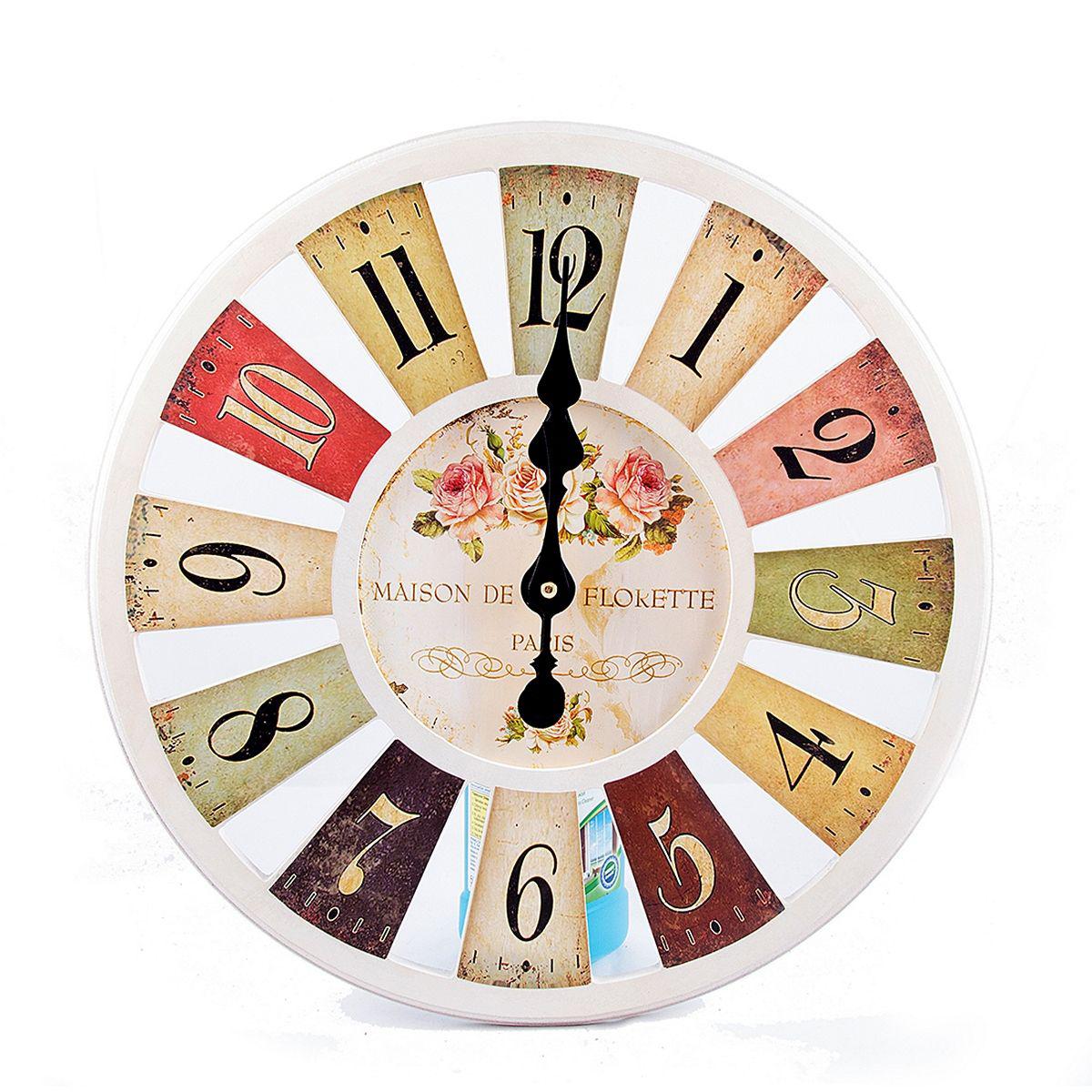 Часы настенные Русские Подарки, 40 х 40 х 5 см. 2962329623