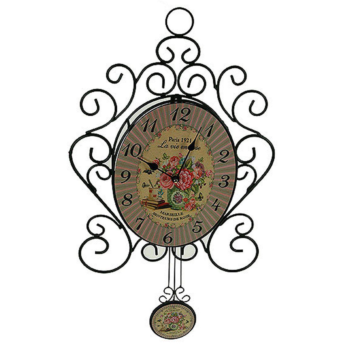 Часы настенные Русские Подарки, 32 х 35 х 6 см. 2962629626