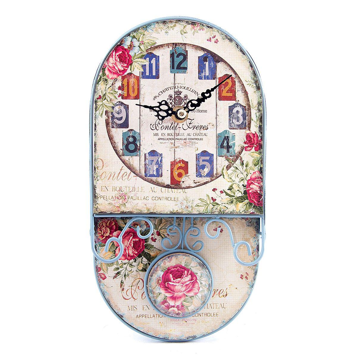 Часы настенные Русские Подарки, 14 х 26 х 6 см. 2962929629