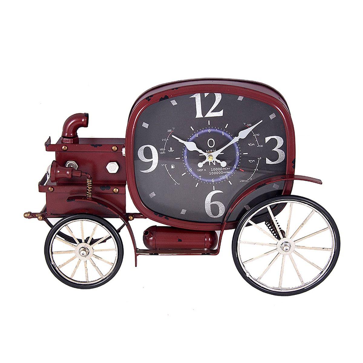 """Часы настенные Русские Подарки """"Ретро-авто"""", 50 х 43 х 36 см. 29633"""
