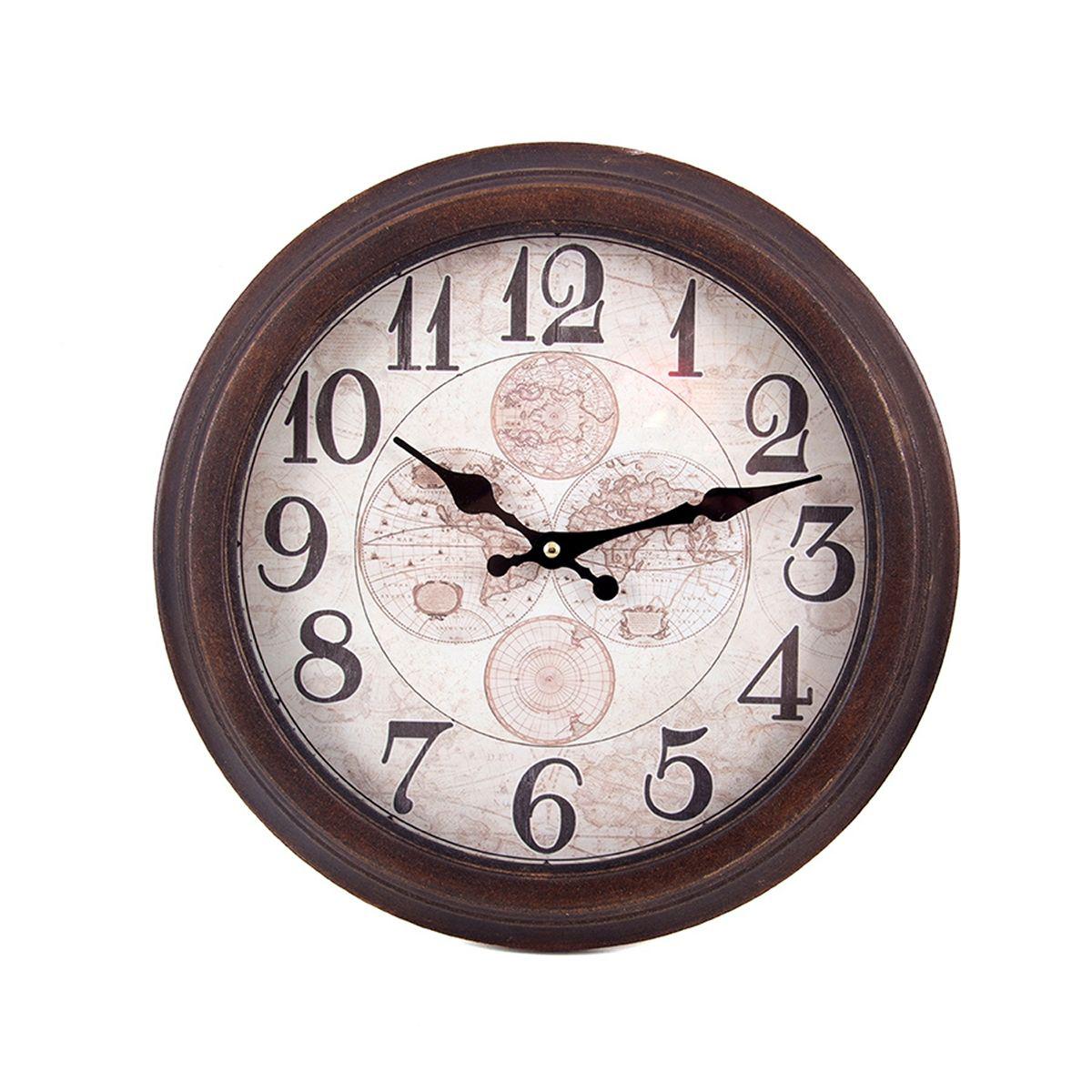 Часы настенные Русские Подарки, 35 х 5 х 35 см. 2963529635Настенные кварцевые часы Русские Подарки изготовлены из МДФ. Циферблат защищен стеклом. Часы имеют две стрелки - часовую и минутную. С обратной стороны имеется петелька для подвешивания на стену. Изящные часы красиво и оригинально оформят интерьер дома или офиса. Также часы могут стать уникальным, полезным подарком для родственников, коллег, знакомых и близких. Часы работают от батареек типа АА (в комплект не входят).