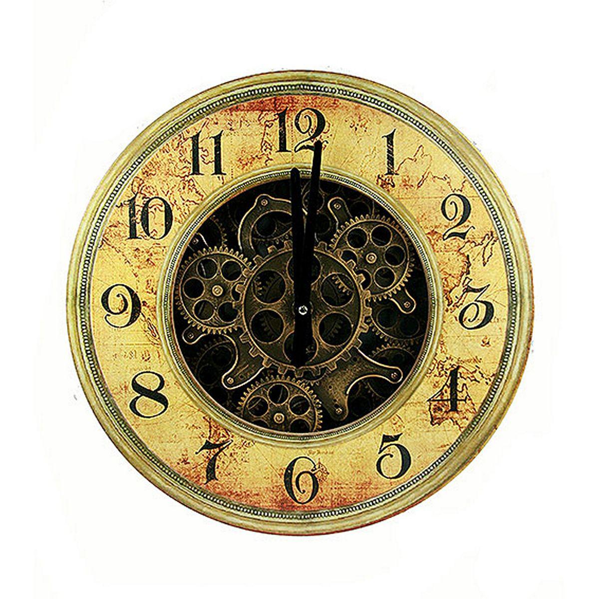 Часы настенные Русские Подарки, 40 х 40 х 7 см. 3478834788