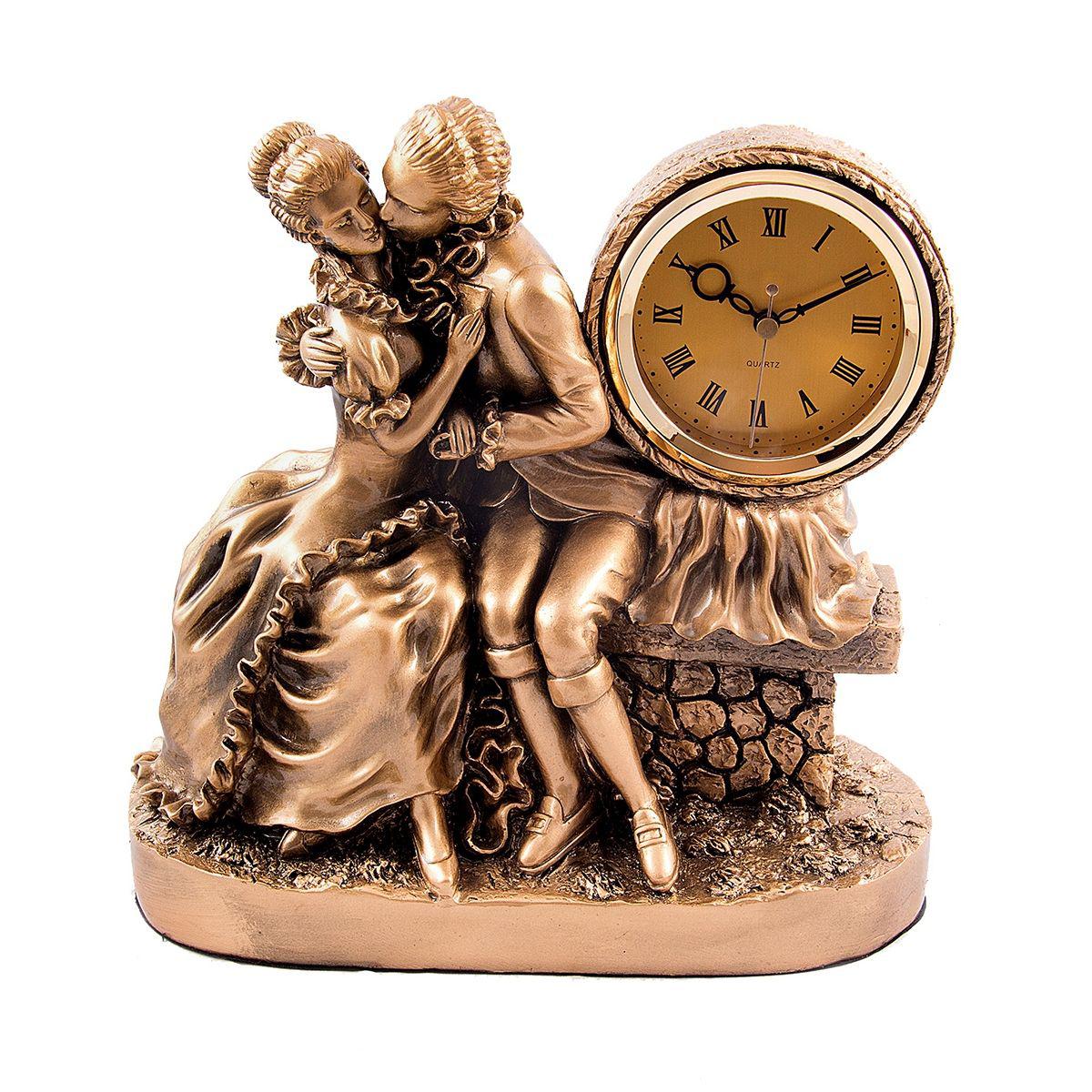 Часы настольные Русские Подарки Влюбленные, 29 х 15 х 29 см. 5933259332