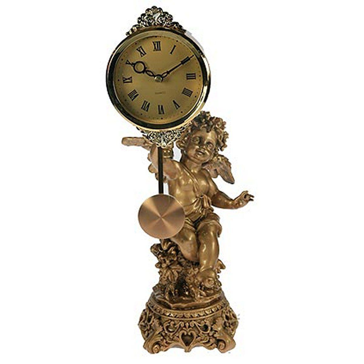 Часы настольные Русские Подарки Ангел, 39 х 16 х 18 см. 5933859338