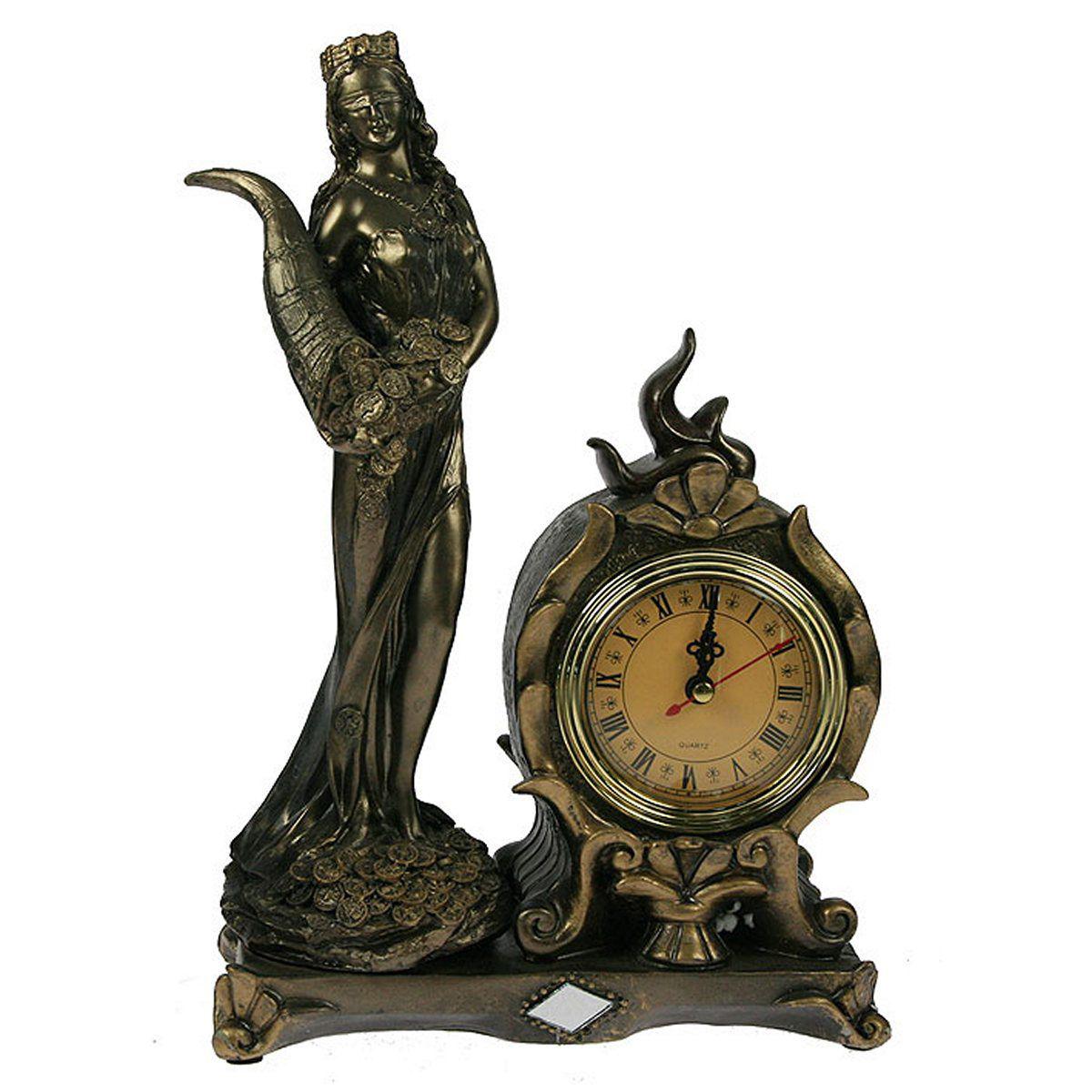 Часы настольные Русские Подарки Римская богиня счастья и удачи - Фортуна, 20 х 10 х 30 см. 5934759347