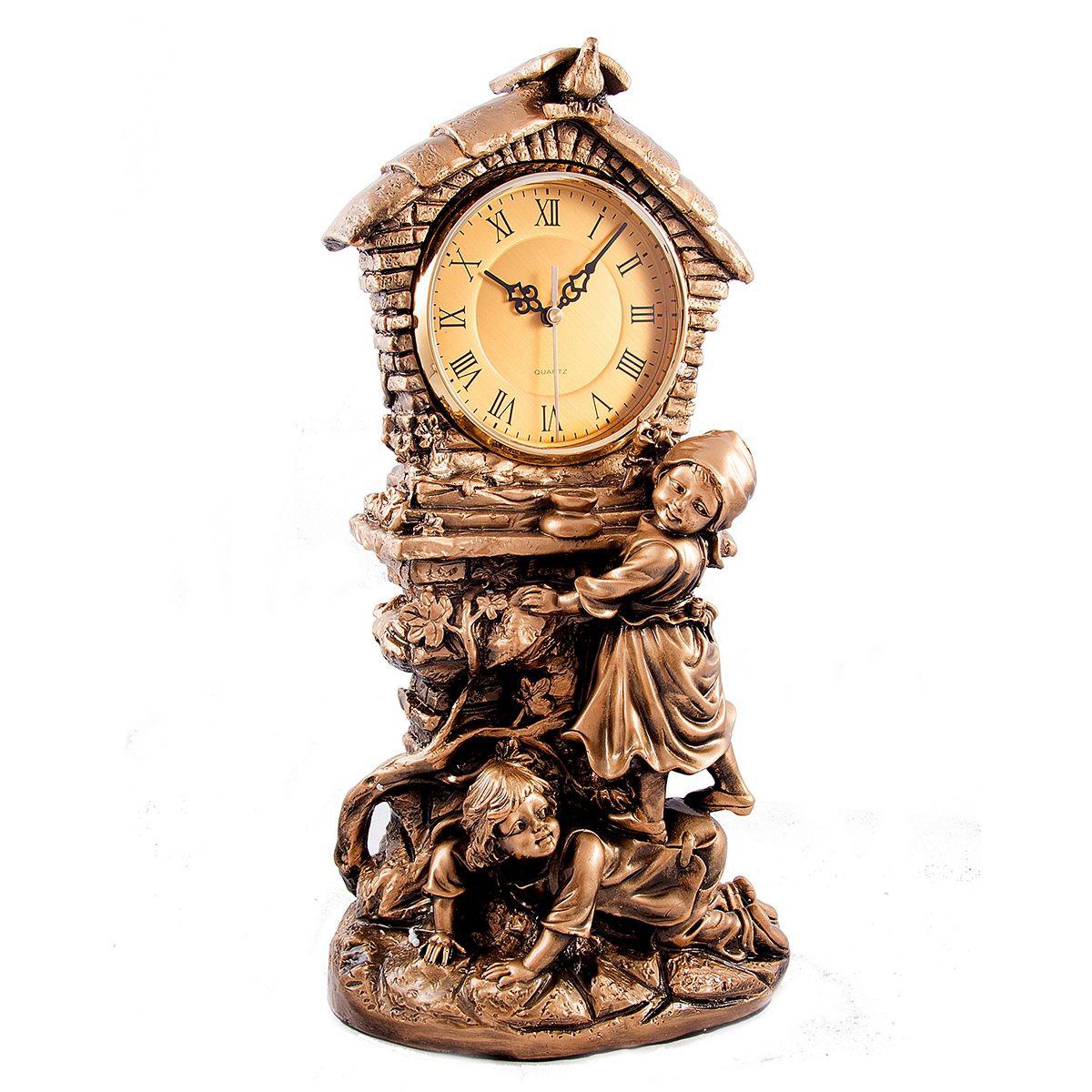 Часы настольные Русские Подарки Сказка, 32 х 16 х 47 см. 5937259372