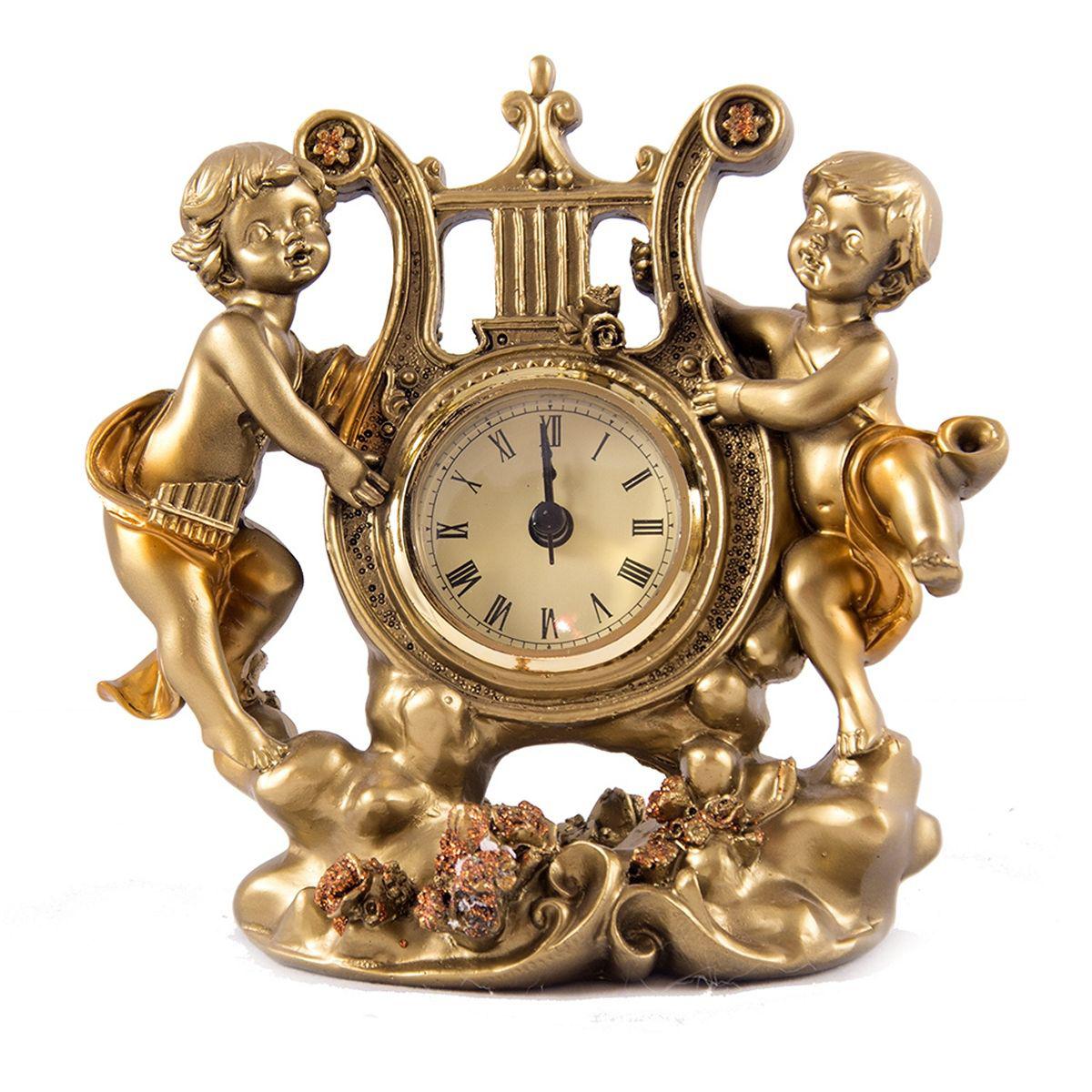 Часы настольные Русские Подарки Ангелы, 12 х 17 см. 5940159401