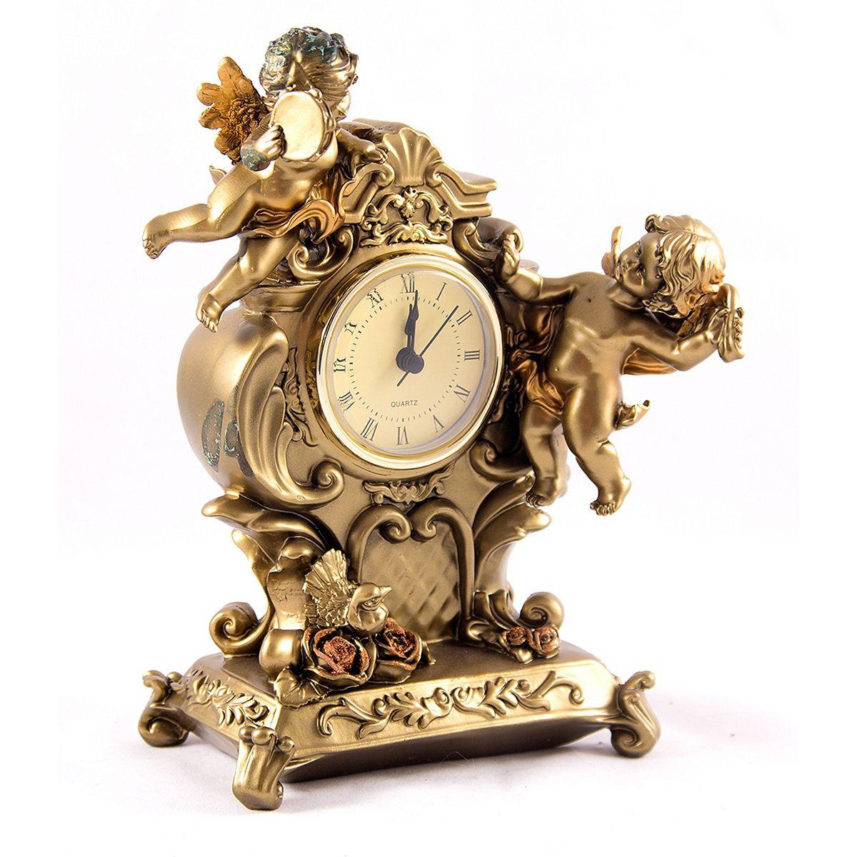 Часы настольные Русские Подарки Ангелы, 14 х 21 см. 5940459404
