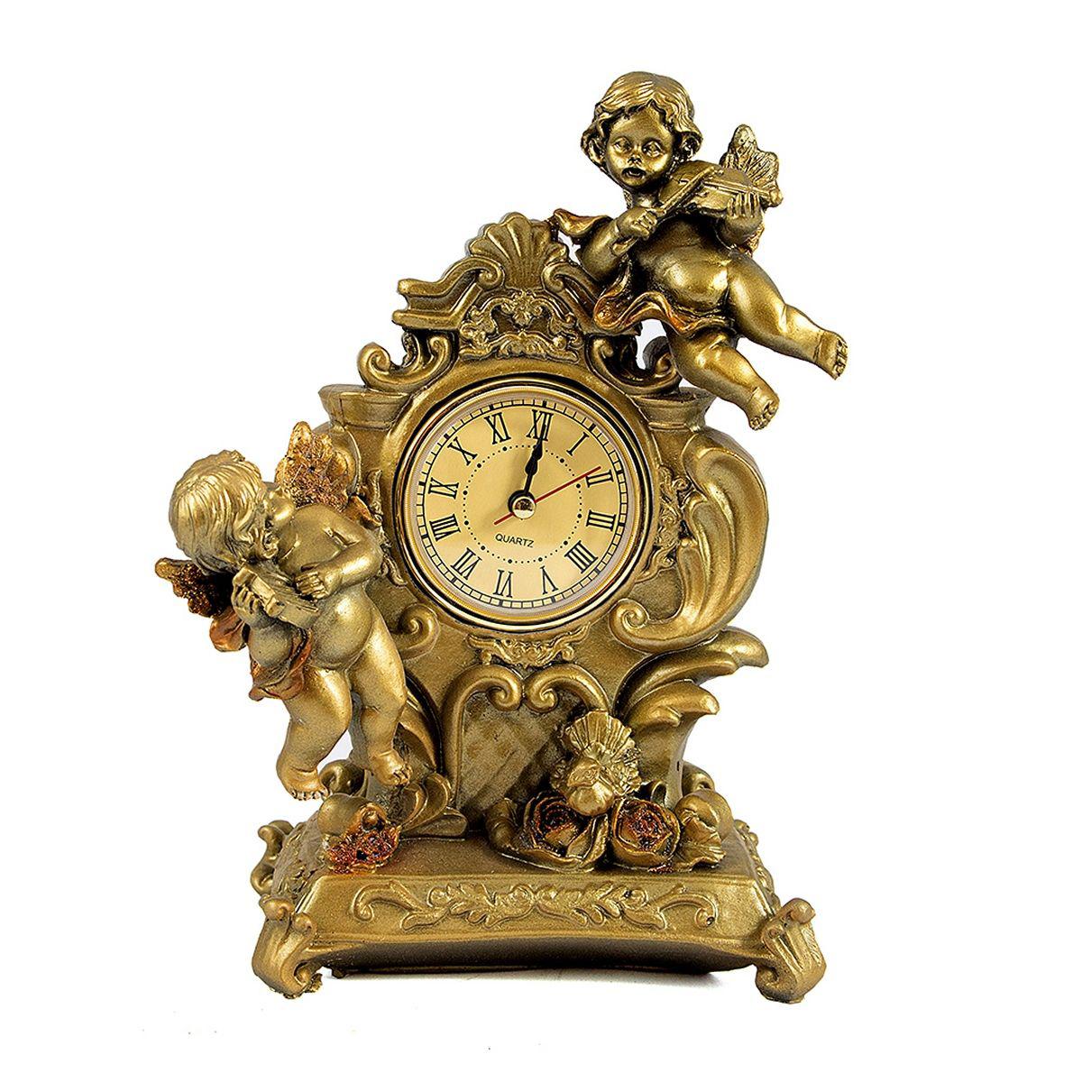 Часы настольные Русские Подарки Ангелы, 14 х 21 см. 5942359423