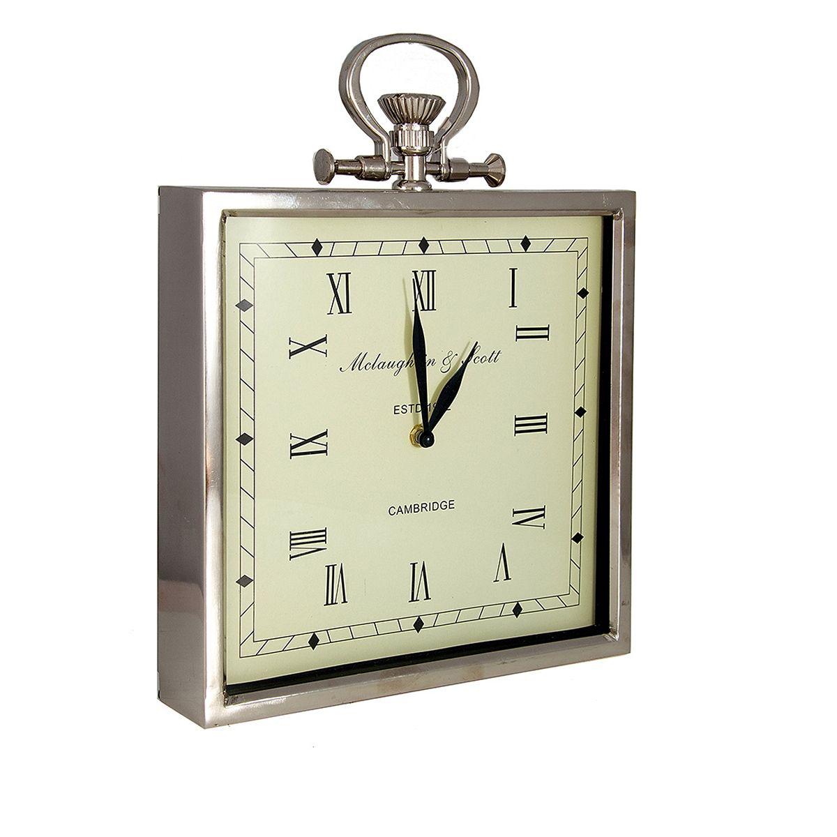 Часы настенные Русские Подарки Классика, 28 х 6 х 34 см. 6060460604Настенные кварцевые часы Русские Подарки Классика изготовлены из металла. Корпус выполнен в классическом стиле. Циферблат защищен стеклом. Часы имеют две стрелки - часовую и минутную. Имеется петелька для подвешивания на стену. Такие часы красиво и необычно оформят интерьер дома или офиса. Также часы могут стать уникальным, полезным подарком для родственников, коллег, знакомых и близких. Часы работают от батареек типа АА (в комплект не входят).
