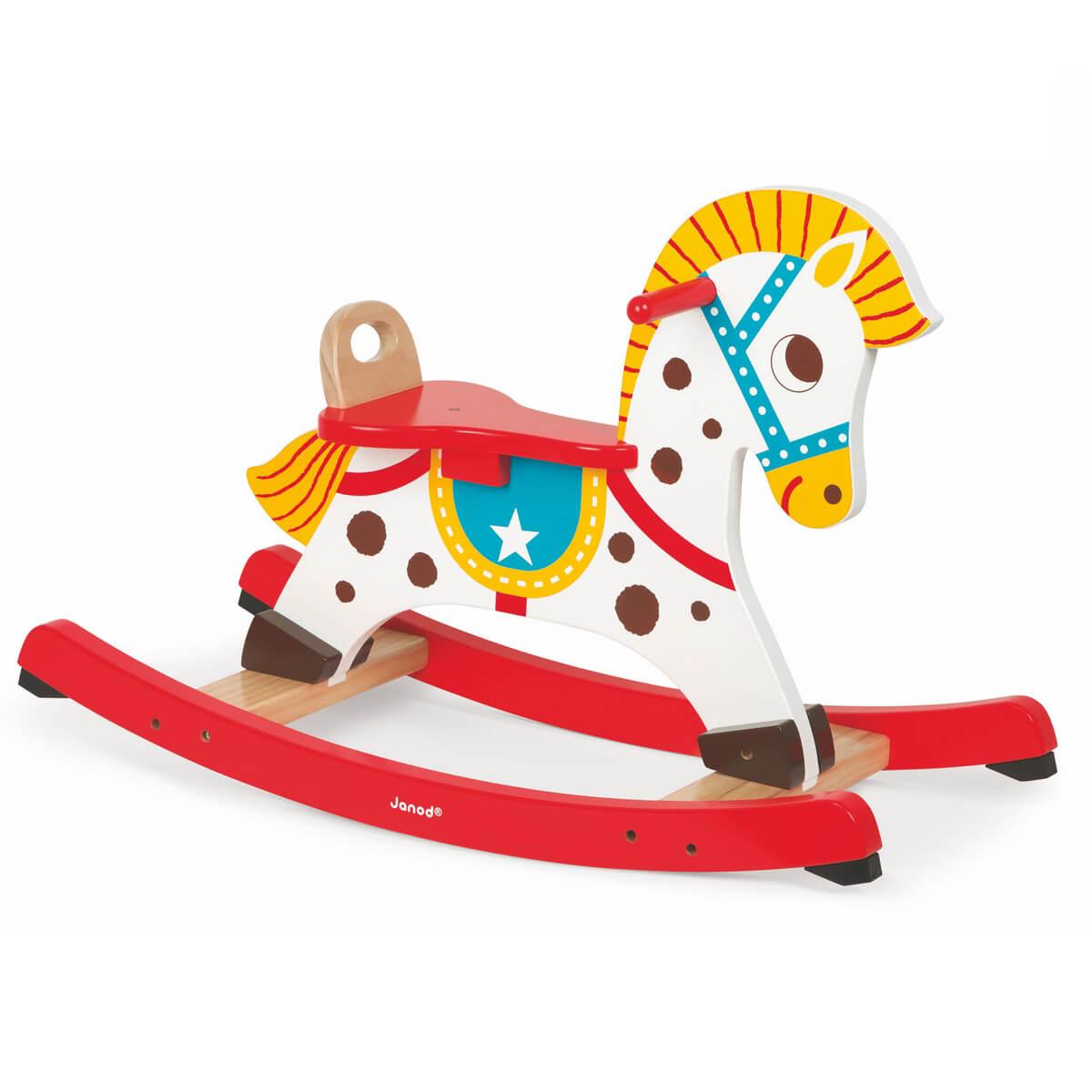 Janod Качалка Озорная лошадка