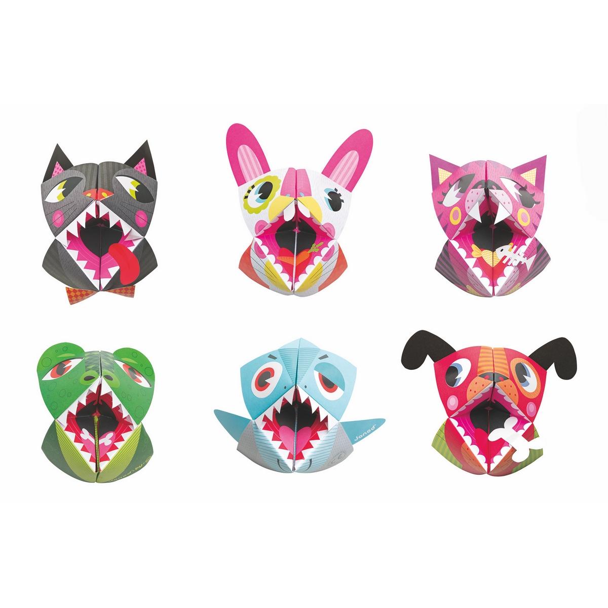 Janod Набор для творчества Оригами Животные