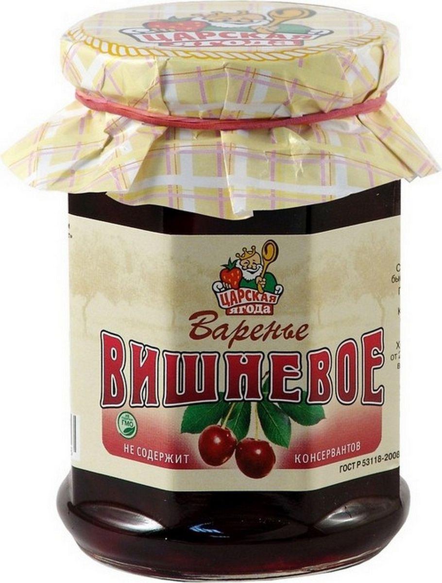 Царская ягода Варенье вишневое, 370 г