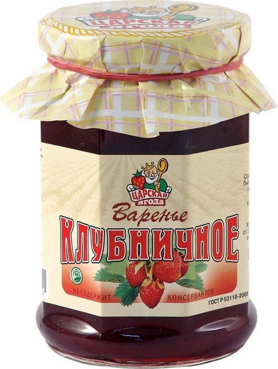 Царская ягода Варенье клубничное, 370 г