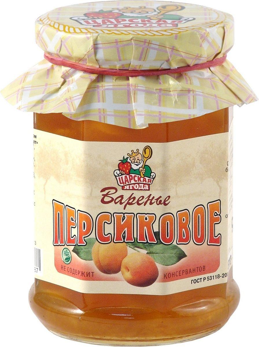 Царская ягода Варенье персиковое, 370 г