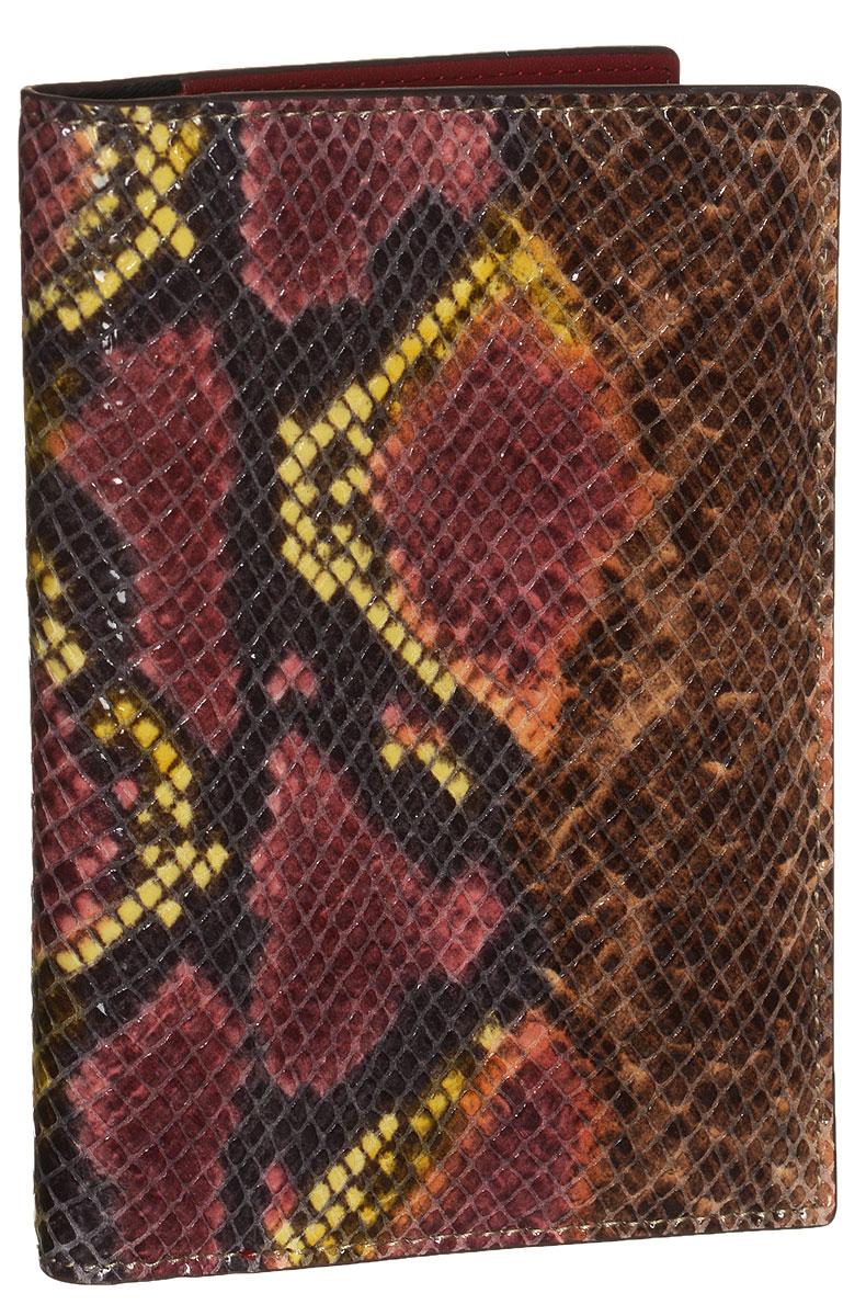 Обложка для документов женская Vitacci, цвет: бордовый. HS086HS086