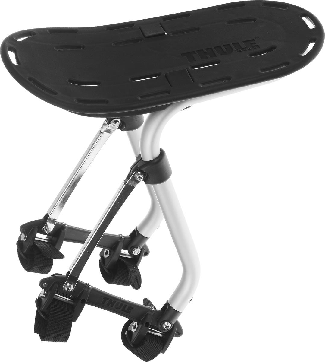 Багажник велосипедный Thule Pack n Pedal Sport Rack100015Багажник велосипедный Thule Pack n Pedal Sport Rack для активных занятий спортом предназначен, главным образом, для размещения грузов и сумок сверху. Многочисленные отверстия позволяют надежно закрепить груз на багажнике при помощи ремней. Запатентованная система установки для велосипедов любого типа - от простого до двухподвесного с диаметром колеса 29. Багажник устанавливается как над задними, так и над передними колесами. Подходит для любого материала рамы велосипеда. Изделие имеет бесшумную конструкцию и не создает вибрации. Багажник поставляется в разобранном виде. Инструкция по сборке прилагается. Грузоподъемность: до 25 кг. Размер доски для размещения грузов: 32 х 15 см.