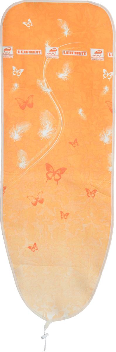 "Чехол для гладильной доски Leifheit ""Premium Speed. Airboard S"", цвет: оранжевый, 112 х 34 см"
