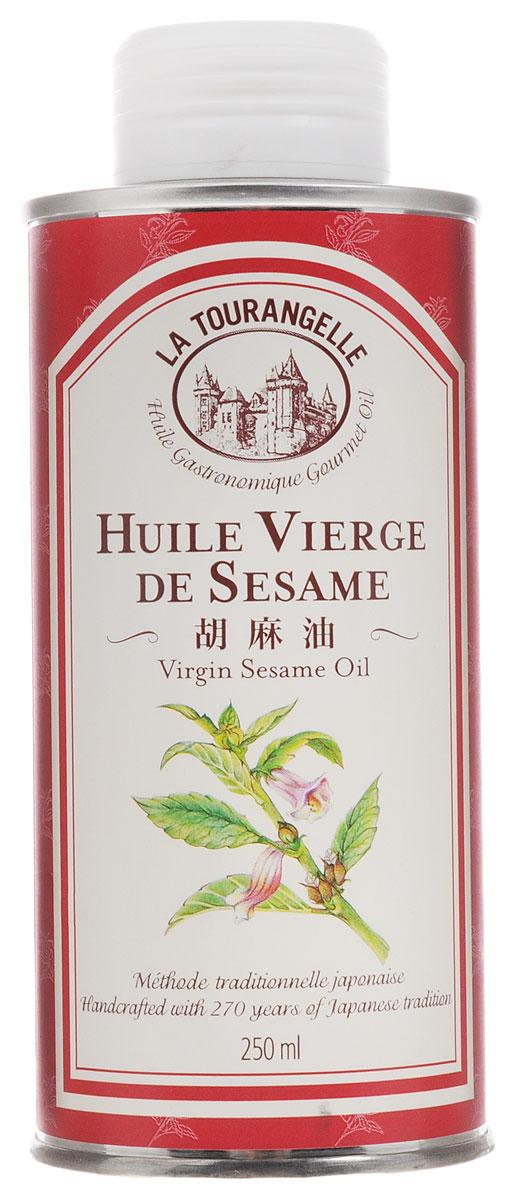 La Tourangelle Sesame Virgin Oil масло кунжутное нерафинированное, 250 мл3245270000665Масло La Tourangelle Sesame Virgin Oil изготовлено из высококачественных обжаренных семян кунжута в сотрудничестве с одним из старейших маслозаводов Японии. Кунжутное масло используют при приготовлении маринадов для мяса и рыбы. Это масло также идеально подходит к китайскому салату с курицей, а его смесь с рисовым уксусом, свежим тертым имбирем и горчицей станет прекрасной заправкой для самых разнообразных салатов из свежей зелени и овощей. Масло можно подогревать до средних температур. Входящий в состав кунжутного масла комплекс Омега-6 и Омега-9 жирных кислот способствует улучшению работы сердечно- сосудистой, половой, эндокринной и нервной систем, нормализации жирового обмена и уровня сахара в крови, укреплению иммунитета, снижению риска развития онкологических заболеваний, а также нейтрализует негативное влияние на организм человека разного рода вредных веществ (шлаки, токсины, канцерогены, радионуклиды, соли тяжелых металлов).