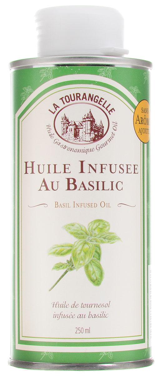 La Tourangelle Basil Infused Oil масло подсолнечное с экстрактом базилика, 250 мл